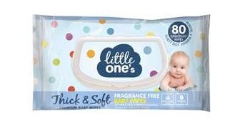 Little One's Thick and Soft Baby Wipes babyinfo