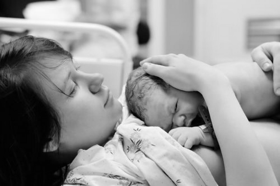 A Newborn's First Hour of Life