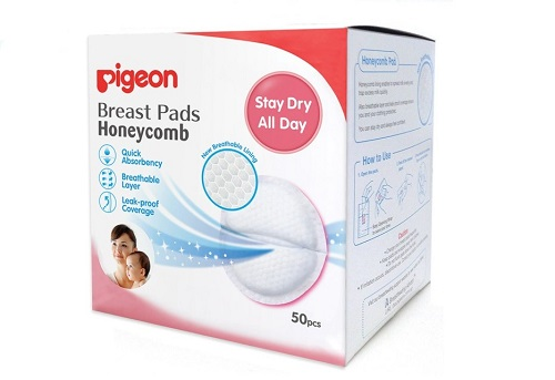 Pigeon Honeycomb Breast Pads Disposable