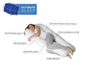 Ultimate Sleep Pregnancy Pillow Total Body Support Review