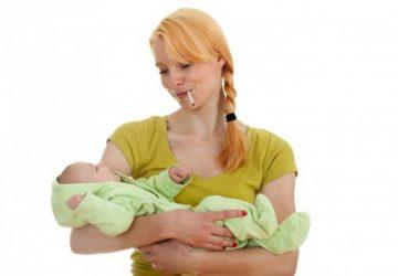 Negatives of Smoking during breastfeeding