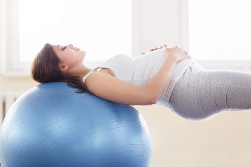 top_5_exercises_to__do_with_a_ball_during_pregnancy_babyinfo_stretches_page